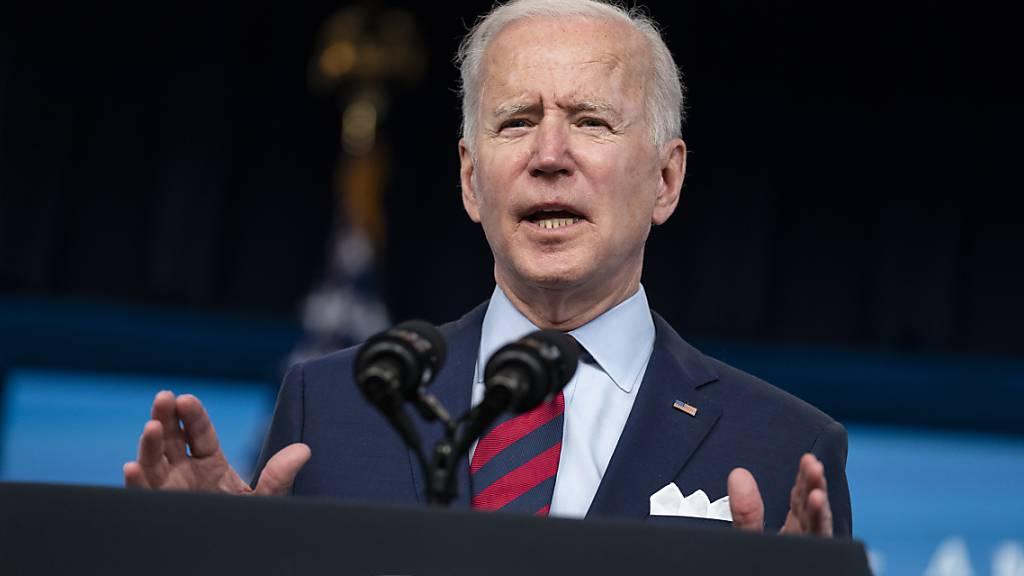 Präsident Biden will mit Verfügung gegen «Geisterwaffen» vorgehen