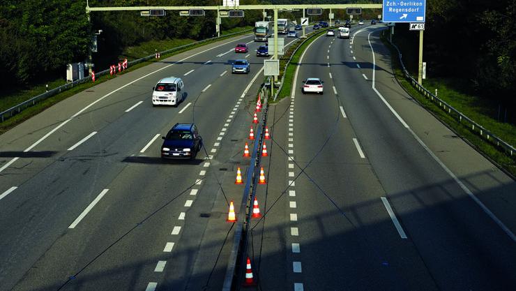 Im Juni beginnt der Ausbau der A1 zwischen dem Gubristtunnel und der Ausfahrt Zürich Nord.