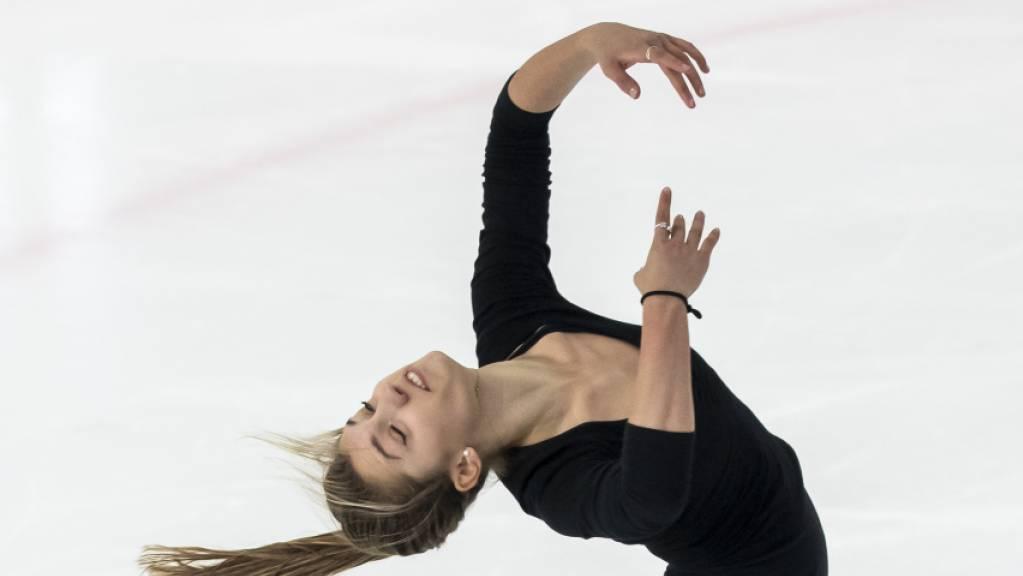 Alexia Paganini ist gut in die Nebelhorn Trophy gestartet.