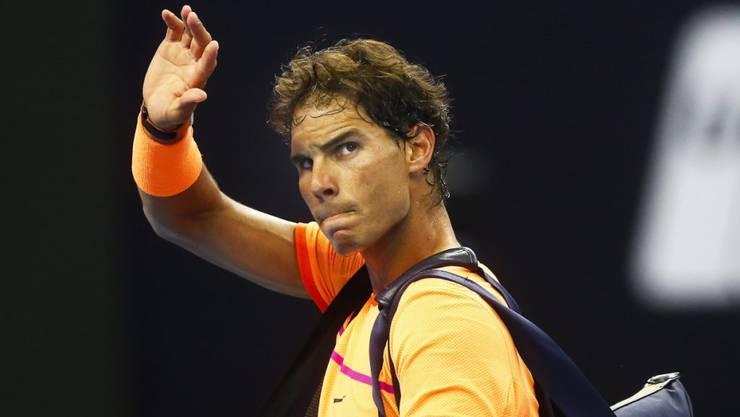 Rafael Nadal gibt sein Saisonende bekannt.