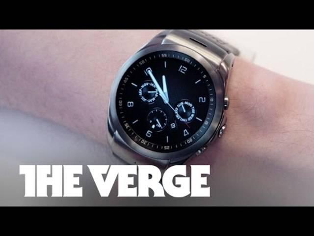 Zum Beispiel: Die neue LG-Uhr «Urbane LTE».