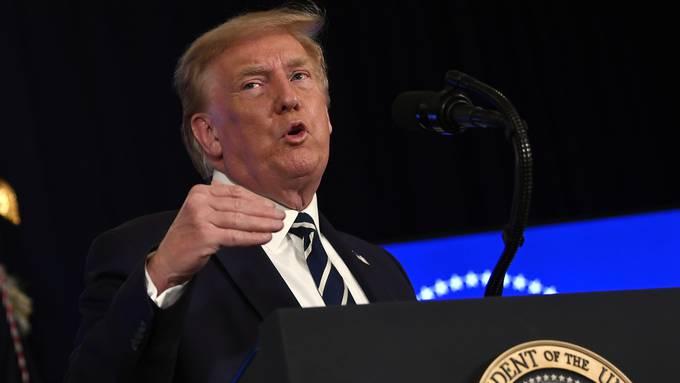 Droht, Teile des Corona-Konjunkturpakets ohne das Parlament durchzusetzen: US-Präsident Donald Trump.