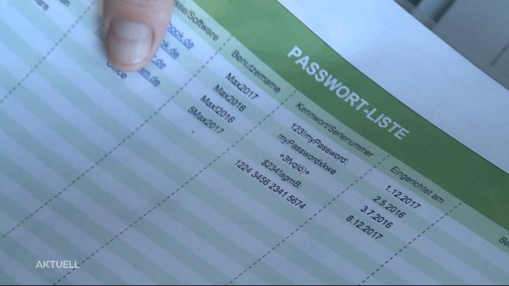 «Wer Zugang zum Tresor hatte, hatte auch Zugang zu den Passwörtern.»