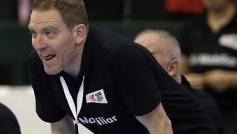 Der Schweizer Nationaltrainer Michael Suter hat allen Grund dazu, stolz auf seine Mannschaft zu sein