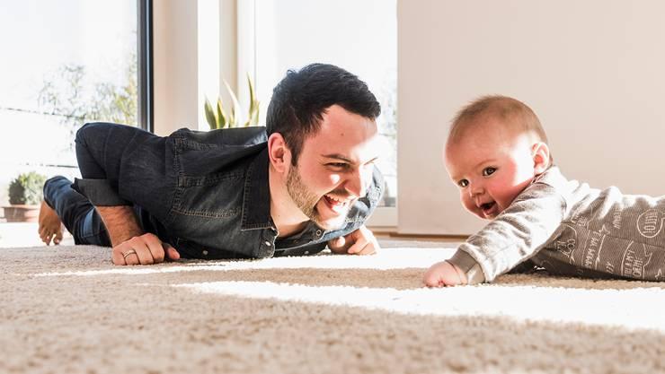 Novartis prescht vor: Vereinbarkeit von Beruf und Familie wird zum Asset auf dem Stellenmarkt. Getty Images
