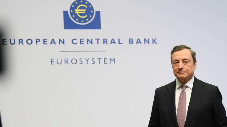 Hat sich erneut durchgesetzt: Mario Draghi, Präsident der Europäischen Zentralbank