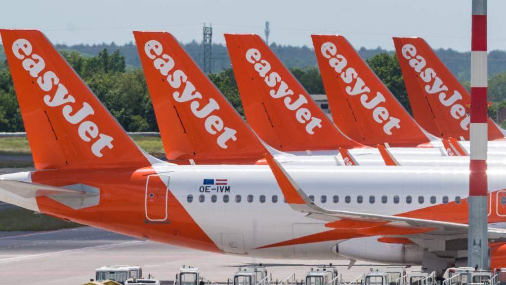 Reiserestriktionen halten noch mehr Easyjet-Flieger am Boden
