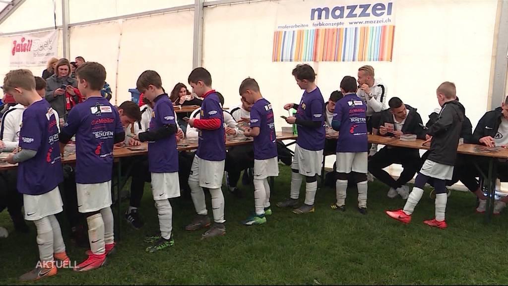 Stars von morgen: Fussballcamp mit FC Aarau