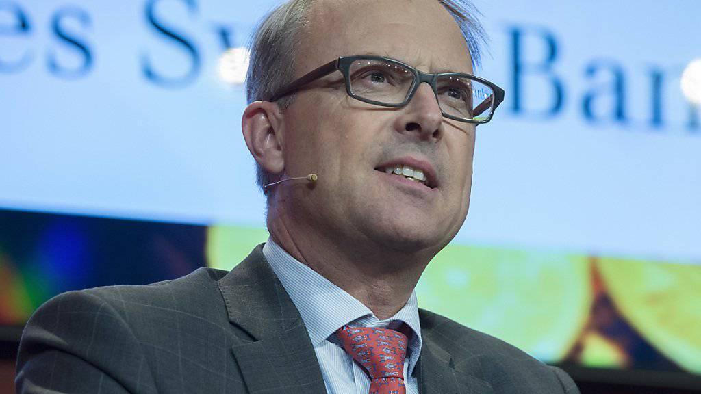 Der Chef der VZ Holding, Matthias Reinhart, erwartet für das zweite Halbjahr eine Rückkehr auf den Wachstumskurs. (Archiv)