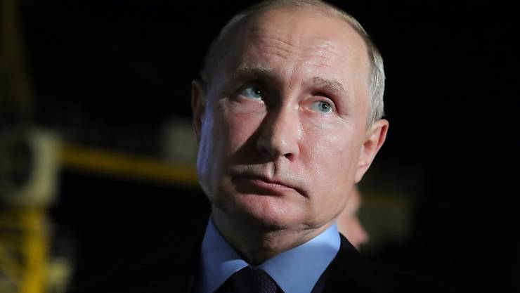 Hat die Gefahr erkannt, hält aber an Volksabstimmung fest: Präsident Wladimir Putin.
