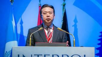Nach der Festnahme des ersten chinesischen Interpol-Chefs Meng Hongwei wird über die Hintergründe spekuliert. (Archivbild)
