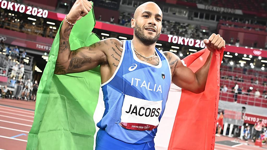 100-m-Gold geht völlig überraschend nach Italien