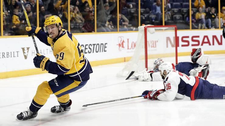 Der Schweizer Roman Josi spielt für die Nashville Predators in der NHL.