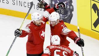 Schweiz - Österreich, Eishockey WM 2018