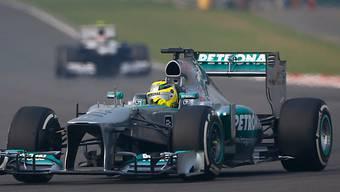 Nico Rosberg fährt im ersten Training in Brasilien Bestzeit