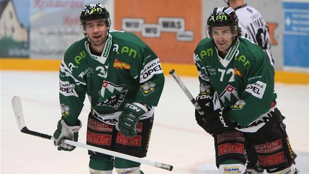 Remo Hirt (l.) und Diego Schwarzenbach hatten wenig zu lachen.