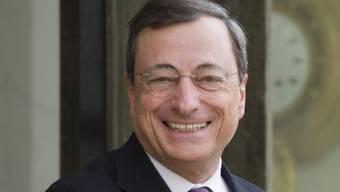 Mario Draghi in einer Aufnahme vom vergangenen Mai
