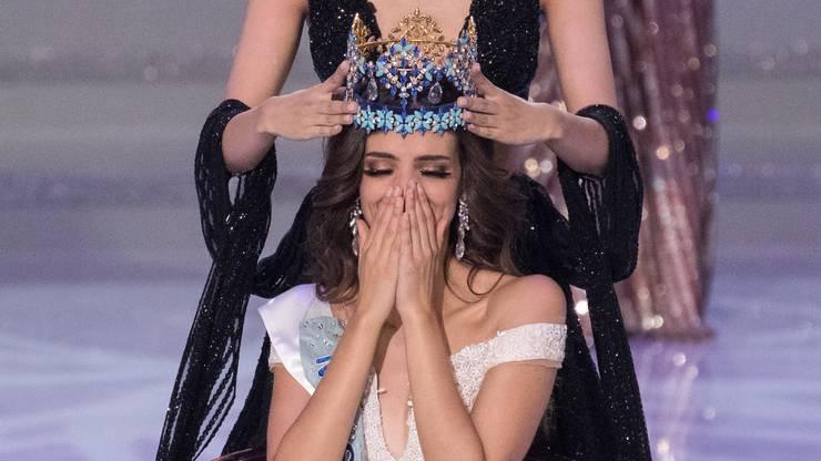 Die 26-Jährige wurde in einer emotionalen Zeremonie...