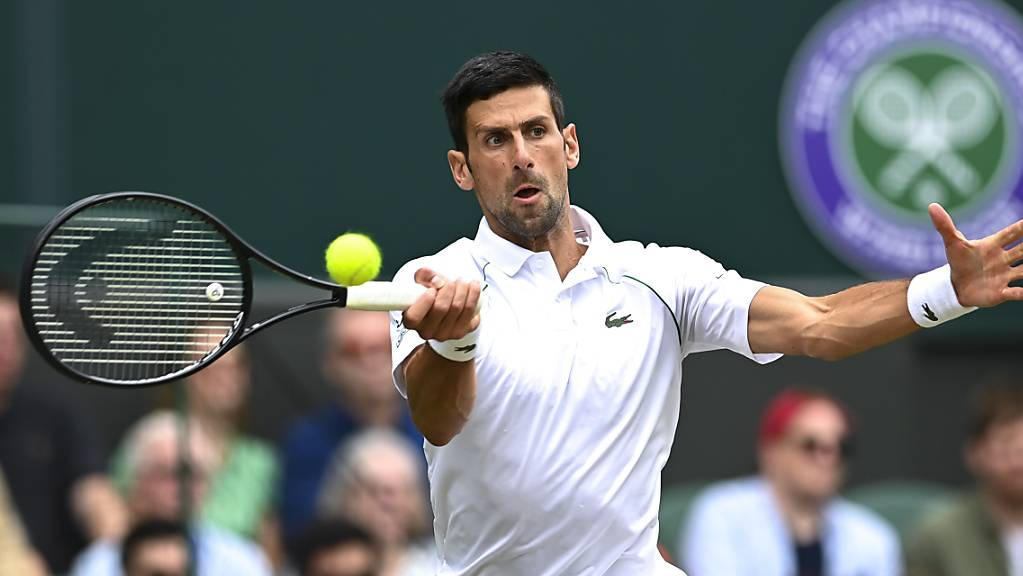 Ein weiterer überzeugender Sieg: Novak Djokovic zog in drei Sätzen in den Halbfinal ein
