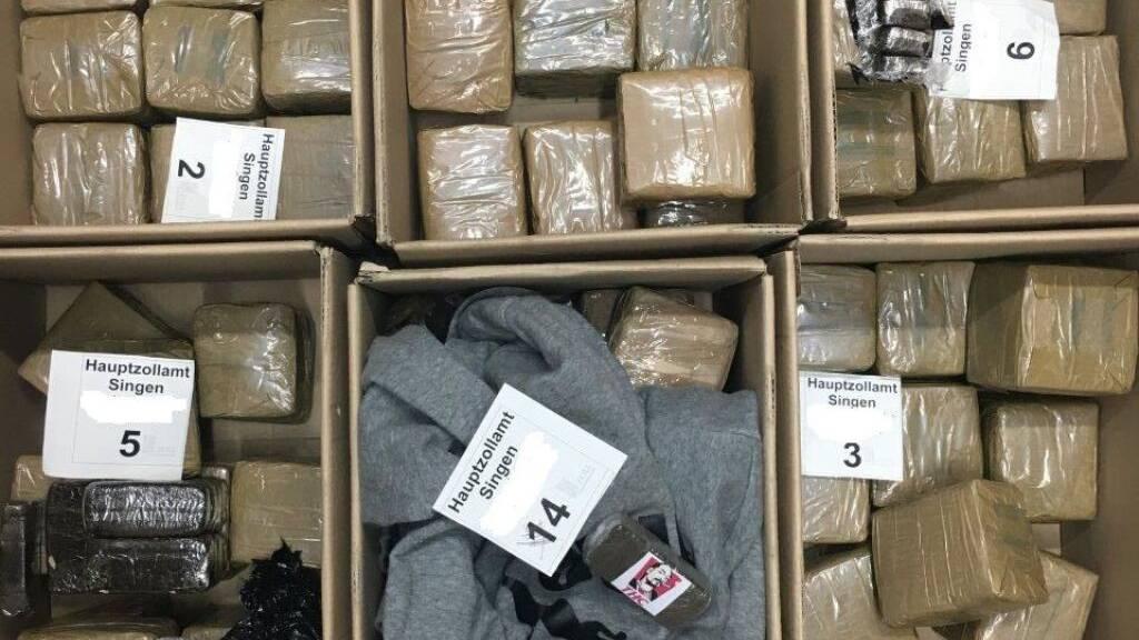 Zöllner beschlagnahmen 60 Kilogramm Haschisch