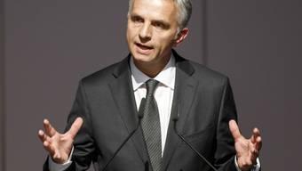 Didier Burkhalter vertrat die Schweiz in Washington (Archiv)