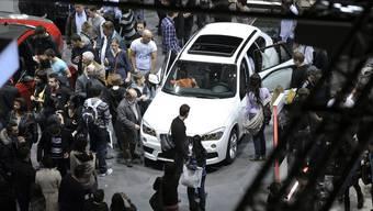 Das Automobil im Zentrum der Aufmerksamkeit: Am 81. Autosalon in Genf