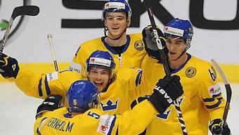 Schweden peilt in der Slowakei das neunte WM-Gold an.
