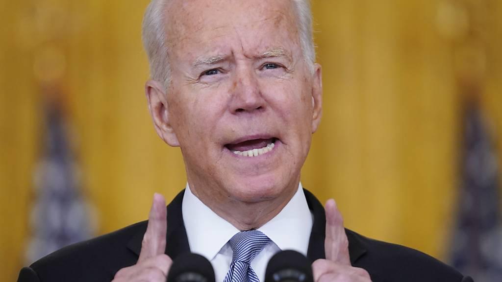 Biden droht Taliban bei Angriffen auf US-Ziele mit Vergeltung