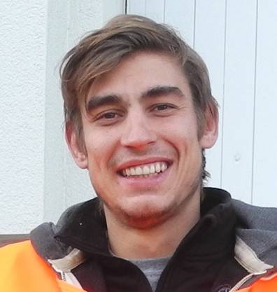 Tom Wyniger, Kollege von Fabian Dingetschweiler, Flüchtlingshelfer aus Birmensdorf der NGO one love