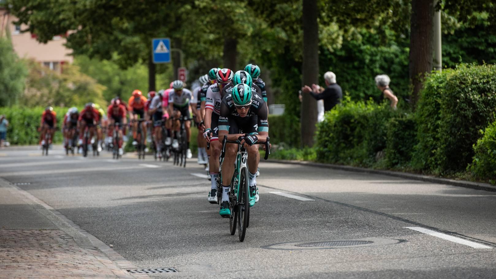 In Frauenfeld ist die erste Etappe der diesjährigen Tour de Suisse.