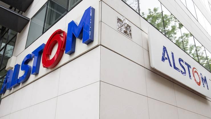 Das Alstom Hauptquartier in der Nähe von Paris.