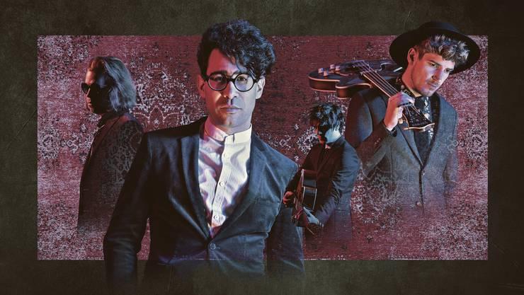 Die vierköpfige Band Pegasus gehört zu den erfolgreichsten Popbands der Schweiz.