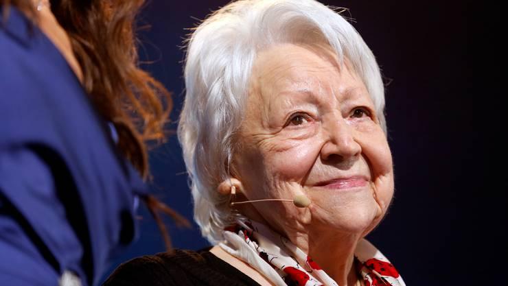 Irma Koch bei der Verleihung.