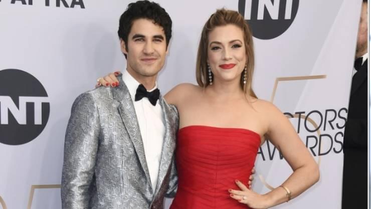 Darren Criss (links) hat Medienberichten zufolge seine langjährige Freundin Mia Swier geheiratet. (Archiv)