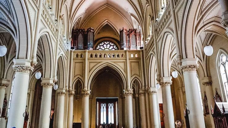 Imposant ist auch das Innere der Kathedrale.