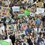 """Klimastreik in Zürich am 27. September 2019. Das Wort des Jahres 2019 in der Deutschschweiz ist """"Klimajugend"""". (Archivbild)"""