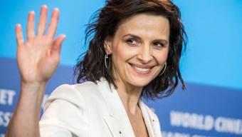 Juliette Binoche während einer Pressekonferenz an der Berlinale