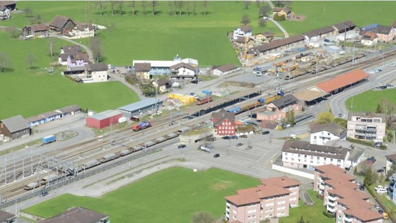 Bahnhof Altdorf kann ausgebaut werden