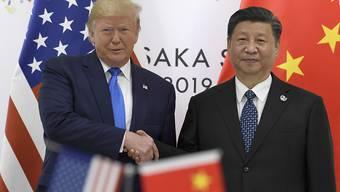 China hat US-Präsident Donald Trump am Dienstag erneut für seine Politik der Konfrontation kritisiert und mehrere Warnungen ausgesprochen. (Archivbild)