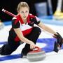 Skip Elena Stern ist eine grosse Hoffnung im Schweizer Curling