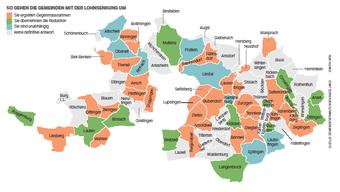 Die Mehrheit umgeht die Lohnsenkung, aber 13 Baselbieter Gemeinden reduzieren den Lohn ihres Personals um 1 Prozent.
