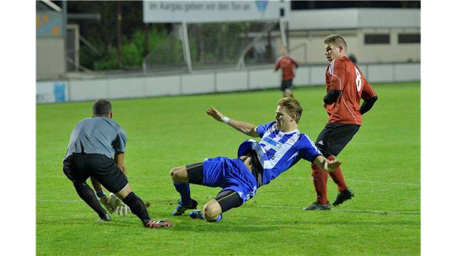 Rothrists Torhüter Kay Trost (l.) wechselte zum FC Olten