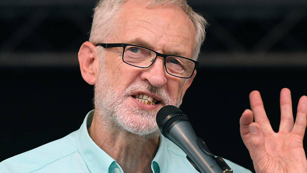 Corbyn will als Interimspremier «No Deal» verhindern