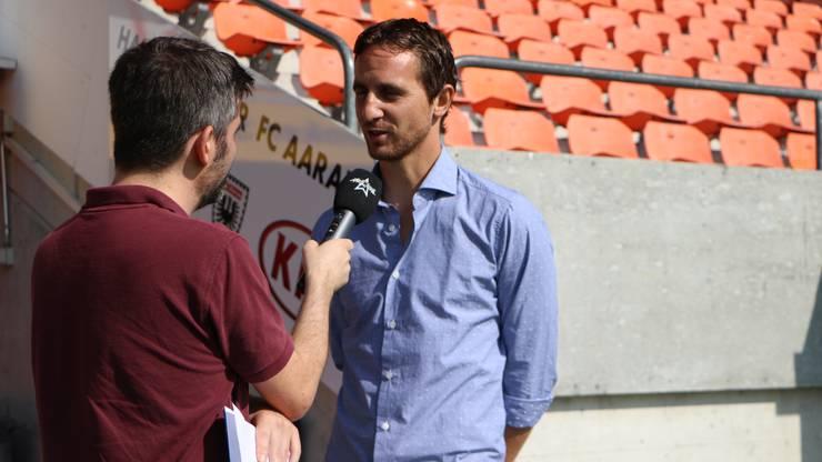 Er hätte sehr viele Ideen als neuer Sportchef, sagt Burki im Interview mit Argovia Redaktor Michael Wettstein.