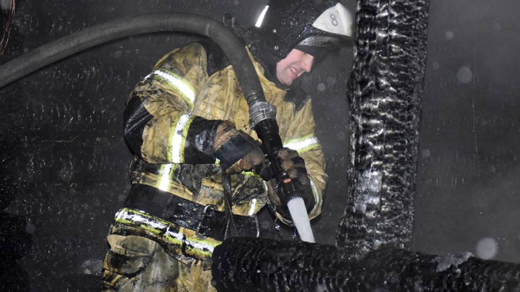 Sieben Tote bei Brand in russischem Altenheim