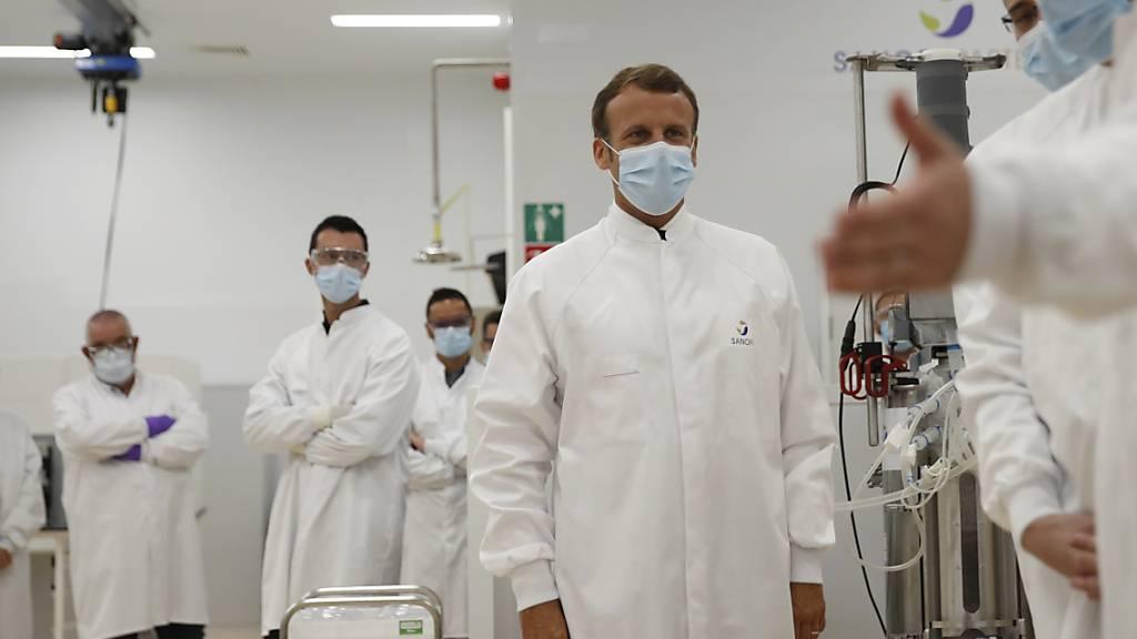Sanofi treibt Entwicklung von Corona-Impfstoffs voran