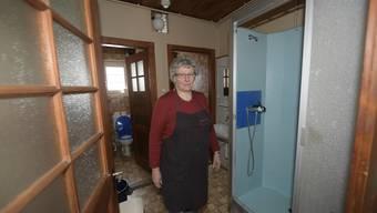 Neue Duschen im Berggasthof Untergrenchenberg
