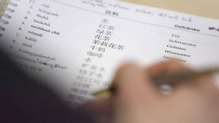 An der Volkshochschule Grenchen kann man auch Mandarin lernen.