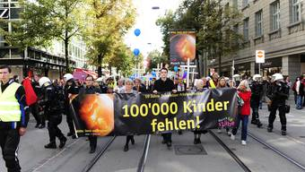 3. «Marsch fürs Läbe» in Zürich