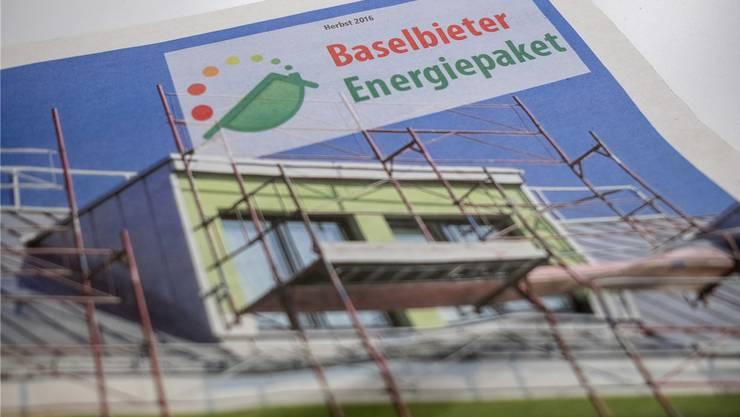 Gingen bisher beim Energiepaket gemeinsam: Die kantonale Bau- und Umweltschutzdirektion und die Wirtschaftskammer Baselland.